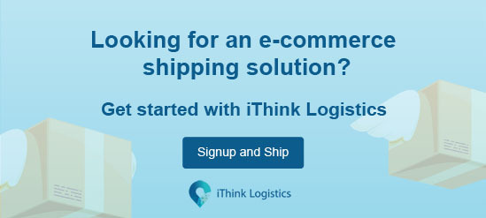Looking for an e-commerce shipping solution? Get started with iThink Logistics