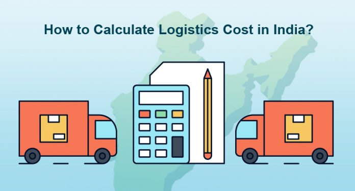 how to calculate logistics cost in india