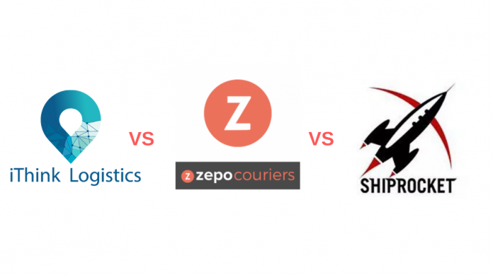 ithinklogistics vs zepo vs shiprocket