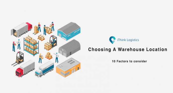 choosing a warehouse location