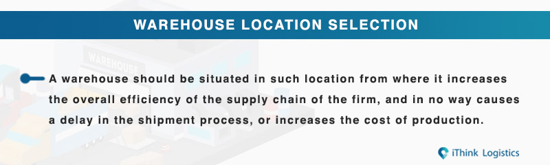 warehouse location selection