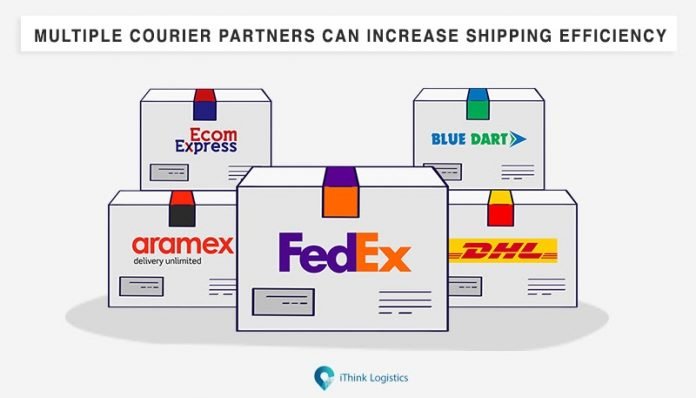 multiple courier partners can increase shipping efficiency