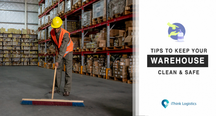 how to keep your warehouse clean and safe