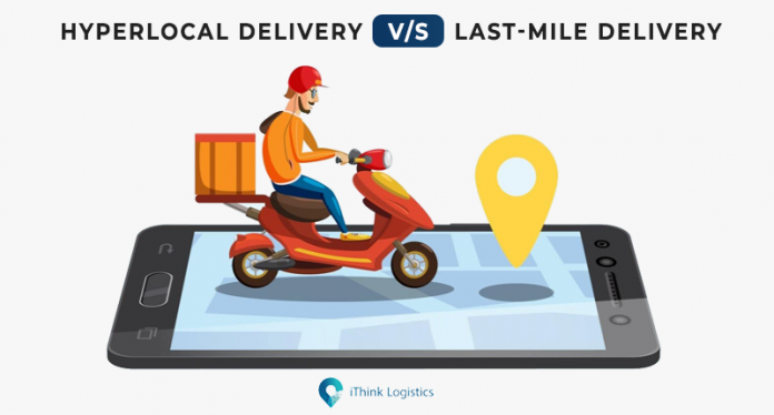 hyperlocal delivery vs last mile delivery