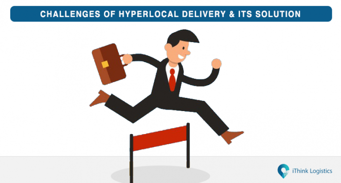 Challenges of hyperlocal delivery and its solutions