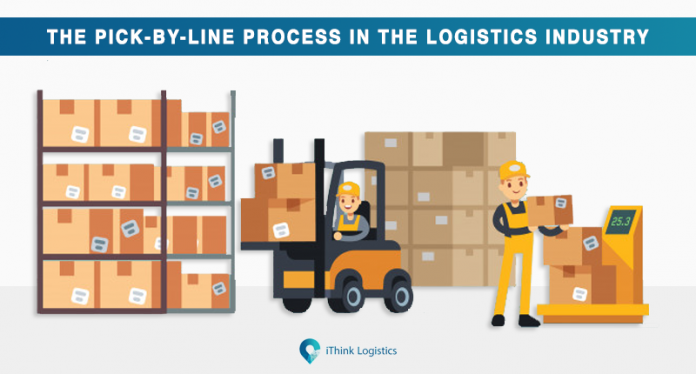 The pick by line process industry