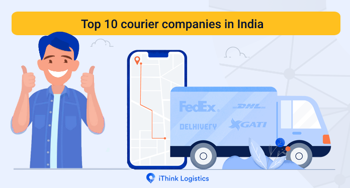 Top 10 courier companies in India