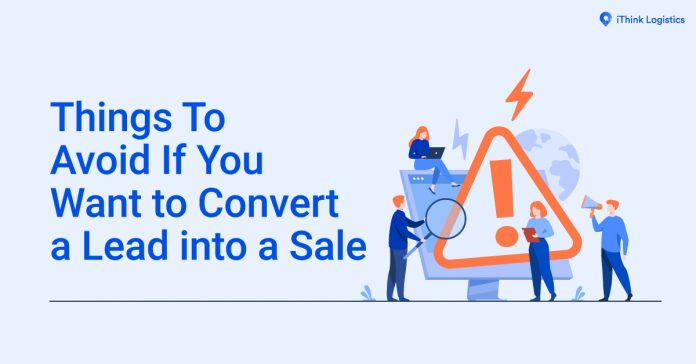 How to convert leads into sale